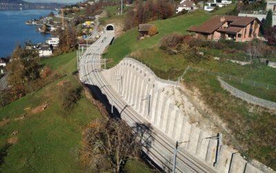 Svájc leghosszabb építkezése befejeződött