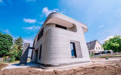 Elkészült az első 3D nyomtatott ház Németországban!