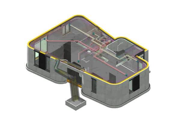 3D nyomtatott ház